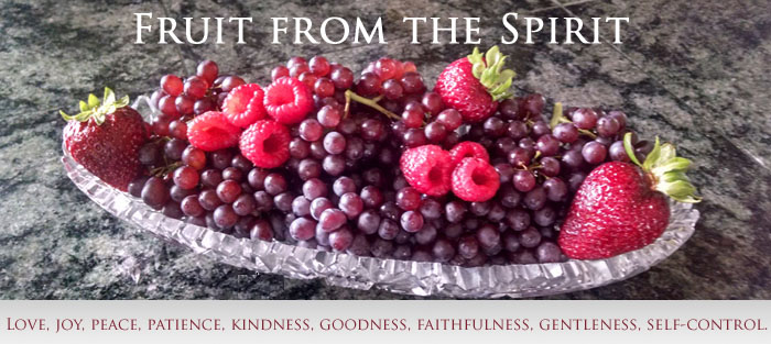 Fruit from the Spirit